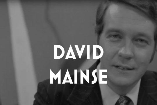 DAVID MAINSE